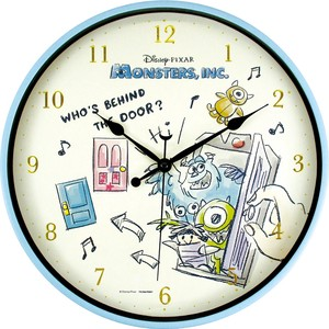 Disney Sketch Index Wall Clock