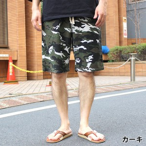 2018 S/S Fleece Camouflage Repeating Pattern Shorts