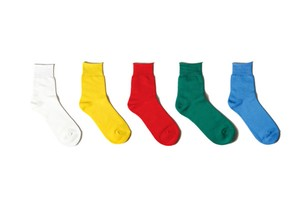 [Women] hige guage pile socks