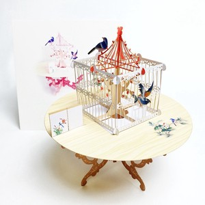 Pop Greeting Card Birdcage