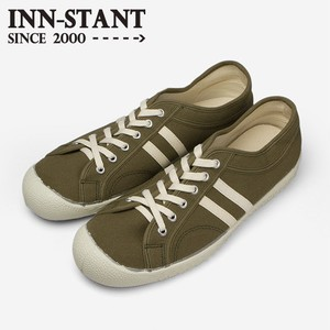 INN-STANT CANVAS SHOES #109 OLIVE/NATURAL(NATURAL SOLE)
