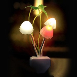 Mushrooms Light Sensor Light Night Light Automatic Lighting Up Automatic Bedroom