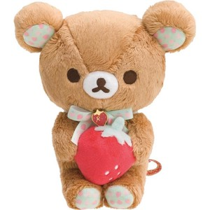 Rilakkuma Soft Toy Rilakkuma Strawberry Party