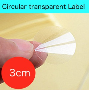 Transparency Adhesion Sticker SEAL Label