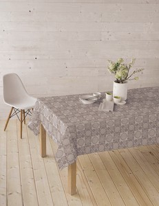 Cut Drapery Economical Tablecloth Water-Repellent Scandinavia Maruko