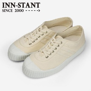 INN-STANT CANVAS SHOES-NEO #802 NATURAL/NATURAL(WHITE SOLE)
