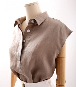 Linen French Color Shirt