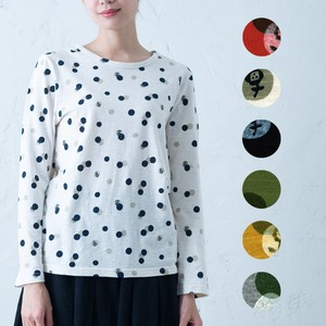 2018 A/W Dot Repeating Pattern Long