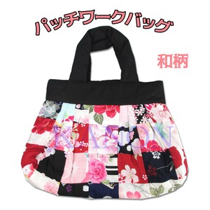 Japanese Pattern Patchwork Bag Usually Eco Bag Souvenir Sightseeing
