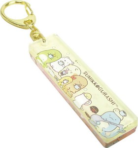 Acrylic Key Ring Sumikko gurashi Coffee