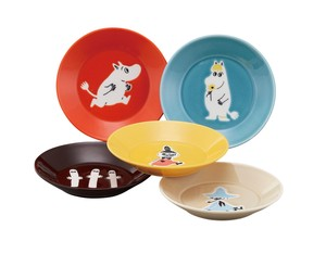 The Moomins Plate Five Set Character