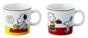 Snoopy Pair Mag Cups Set