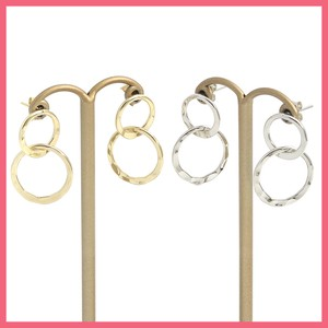 Double Ring Pierced Earring