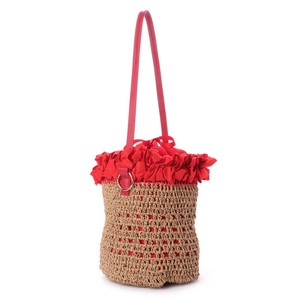 Mouth Gather Frill Paper Single-shoulder Bag