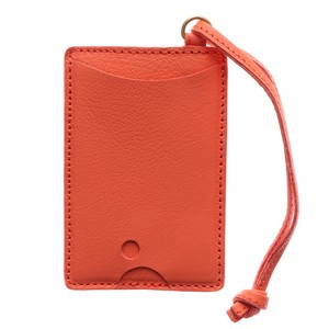 Italy Cow Leather Commuter Pass Holder