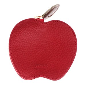 Italy Cow Leather Apple Coin Charm