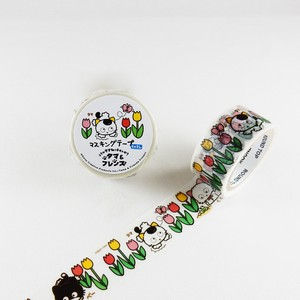 Round Top Tama&Friends Washi Tape Tulip