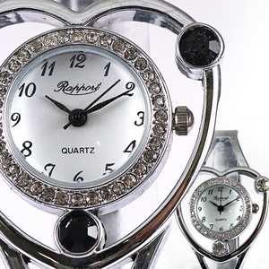 Pole Watch Heart Bangle Watch Ladies Wrist Watch Fashion Accessory Bracelet