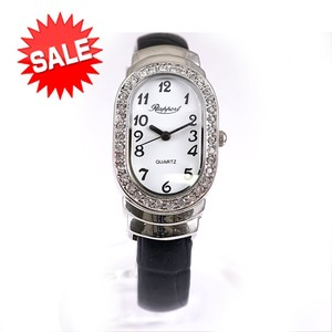 Leather Bangle Watch Ladies Wrist Watch