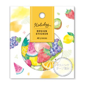HOLIDAY Design Sticker Fruit