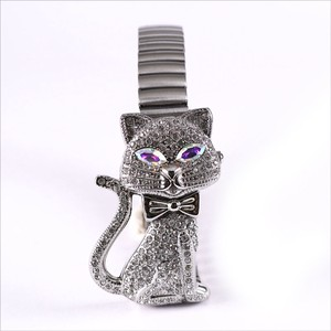 Pole Watch Glitter Cat Bellows Belt Ladies Wrist Watch Accessory Bracelet