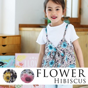Short Sleeve Shirt Bustier Flower Design Top Shirt Bustier Set