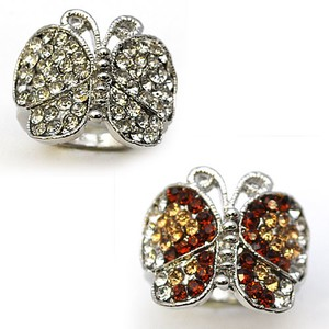 Glitter Butterfly Rhinestone Party