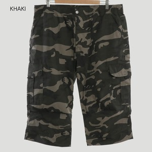 2018 S/S Camouflage Three-Quarter Length Cargo Pants
