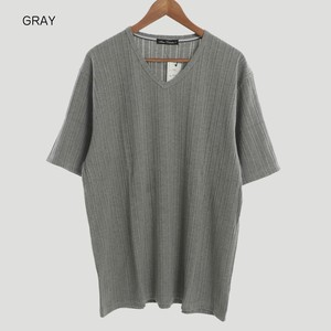 2018 S/S Random Teleko Plain V-neck Short Sleeve T-shirt