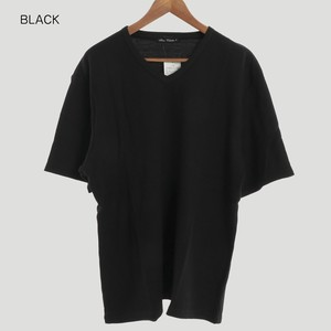 2018 S/S Waffle Plain V-neck Short Sleeve T-shirt