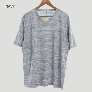2018 S/S Color Jersey Stretch V-neck Short Sleeve T-shirt