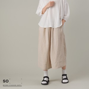 French Linen Gaucho Pants