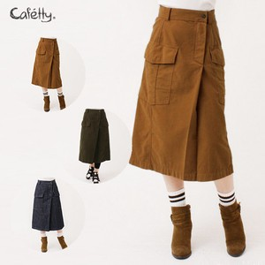 2018 A/W Straight Skirt Fabric Use Cafetty