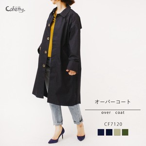 2018 A/W Over Coat Vintage Processing Cafetty