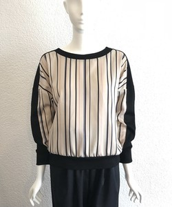 Stripe Switch Dolman