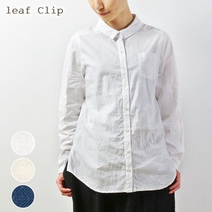2018 A/W Switching Shirt Cotton Natural