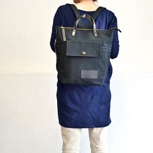 Size 4 Canvas Backpack