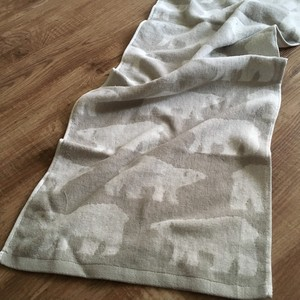 2018 A/W Polar Bear Face Towel Imabari Gift Scandinavia