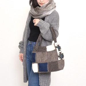 Special Knitted Felt Patchwork Tote