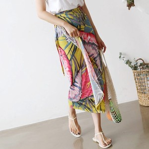 Colorful Petiole Wrap Skirt