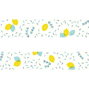 Washi Tape Rosemary Lemon