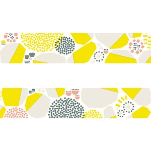 Washi Tape Stonewall Yellow