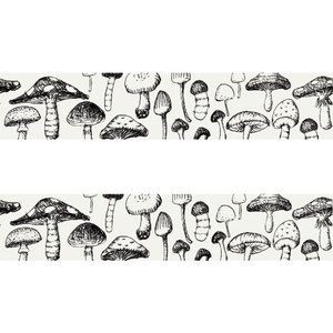 Washi Tape Mushrooms