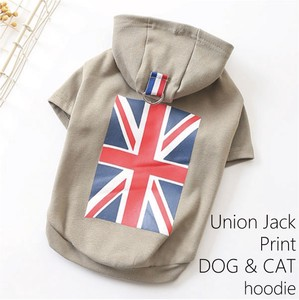 Pet Product Union Print Hoody for Cat Dog Wear