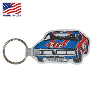 STP RUBBER KEYCHAIN【CAR】/ MADE IN USA キーホルダー