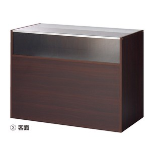 Wooden Showcase Counter