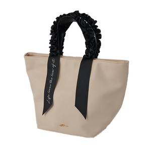 Frill Attached Tote Bag