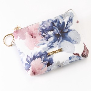 Watercolor Floral Pattern Mini Pouch Room