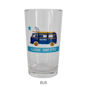 【SALE】【BLUESMILE】グラス(BUS)【8柄 マリン ガラスコップ 新生活】