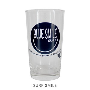 【SALE】【BLUESMILE】グラス(SURF SMILE)【8柄 マリン ガラスコップ 新生活】